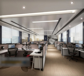 3d models scene largest general office area modern commercial design download