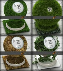 vray grass material collection