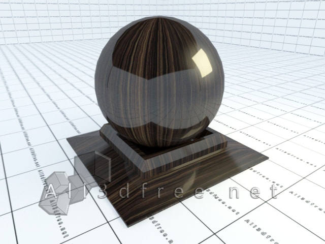 Vray materials High gloss wood grain 003 in 2020 collection