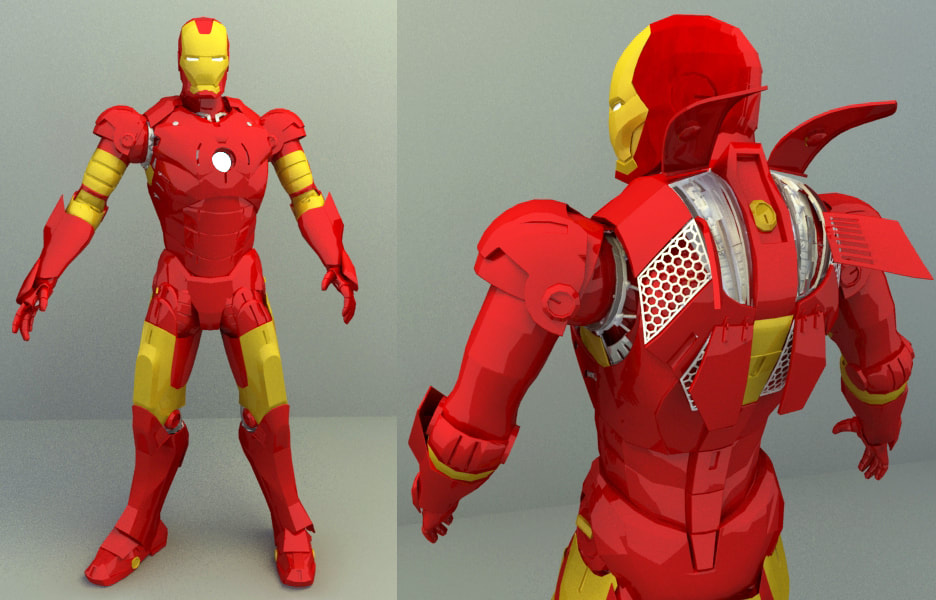 Marvel Character - Ironman
