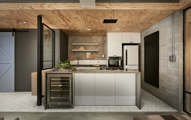 wood and modern kitchen design on all3dfree
