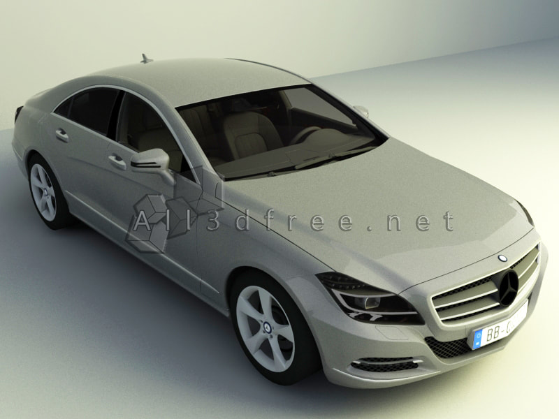 3D Model Vehicle Collection - Mercedes-Benz Luxury Car