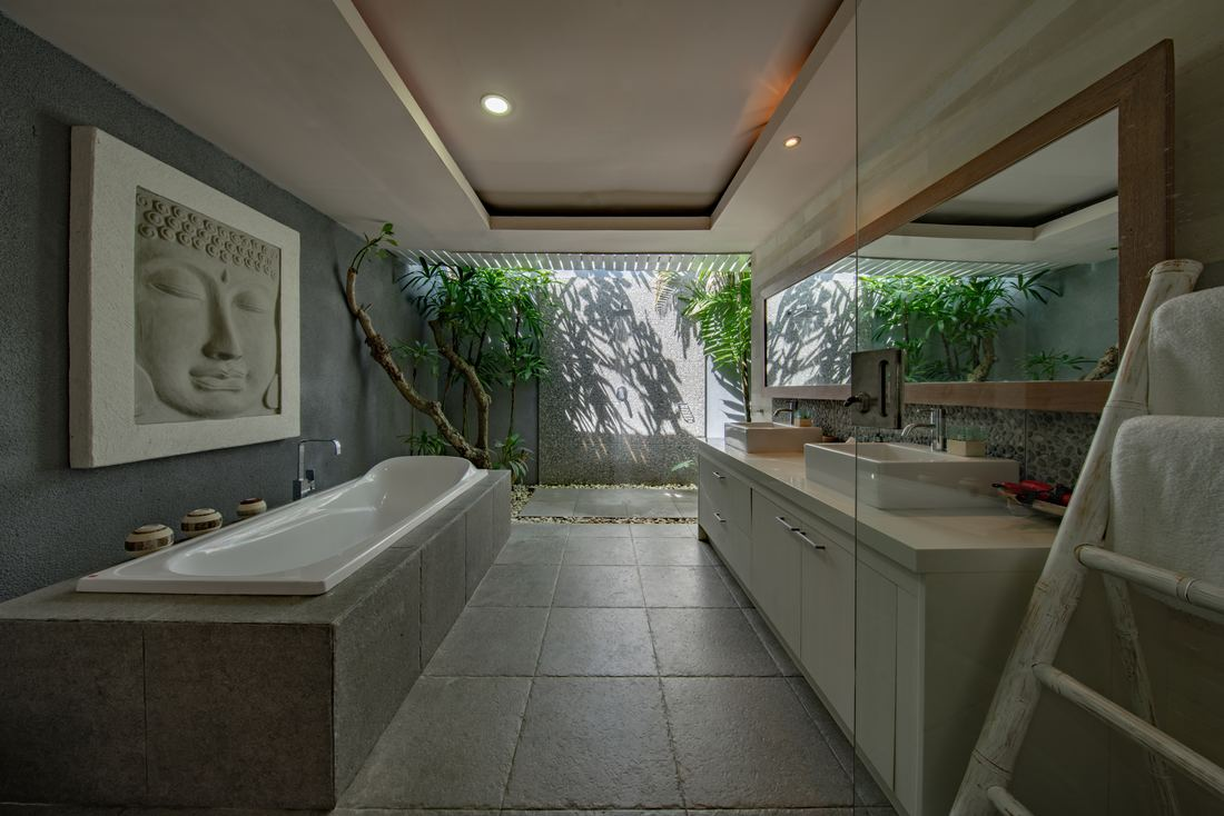Bathroom design with