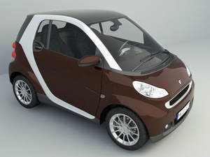 Renault Mini car free 3d models
