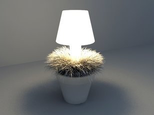 LED lighting plants design