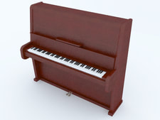 3D model Piano free download