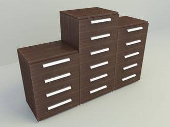 free 3D model drawer and cabinet free download