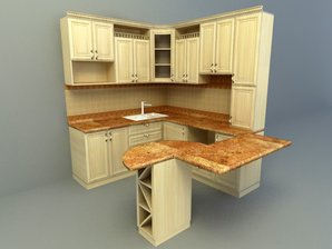brightness wooden design kitchen design 2017