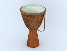 3D model Djembe free download