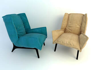 3D model - patterson sofa chair free download