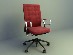 Desk chairs design 3d models