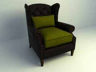 Chesterfield chair 3d model free download