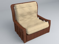 Chesterfield Chair 3d models