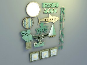 wall decoration display design