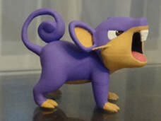 Anime character 3d model - Rattata Pokemon