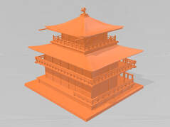 stl file free download - kinkakuji temple