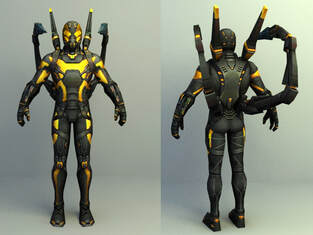 Marvel 3d character - Corey Stoll as Yellow Jacket