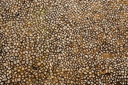 Stone floor texture seamless - Round ground chaotic 013