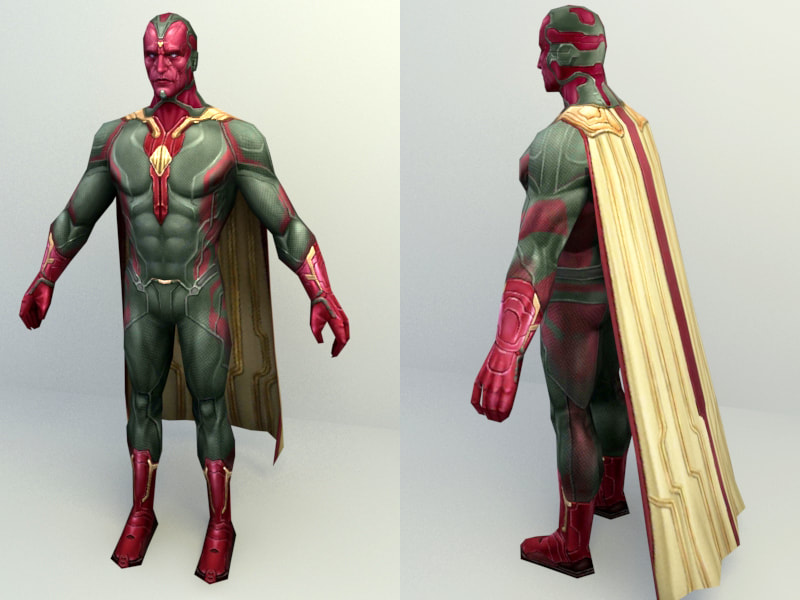 Marvel Character - Vision