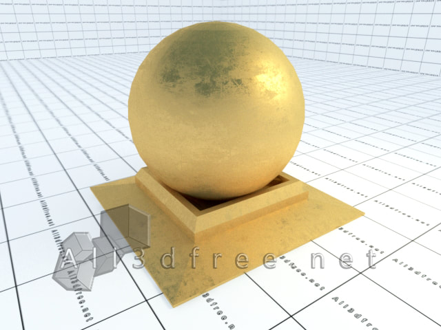 Vray materials gold leaf 010 in 2020 collection
