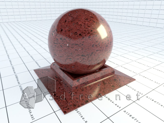 Vray materials Morning Rose Granite 003 in 2020 collection