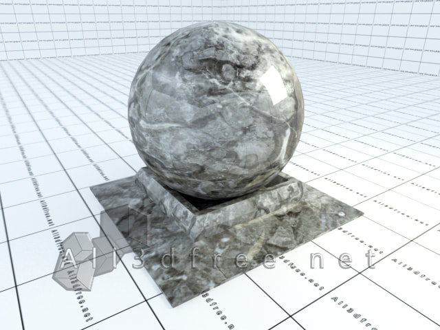 Vray materials Grey Marble 002  in 2020 collection