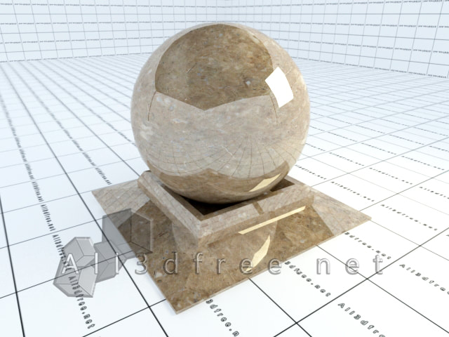 Vray materials Perlato Svevo Marble 004  in 2020 collection
