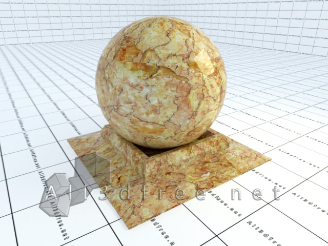 Vray materials brown-cream marble 008 in 2020 collection