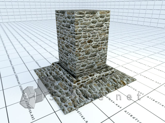 Vray materials Rubble wall 006 in 2020 collection
