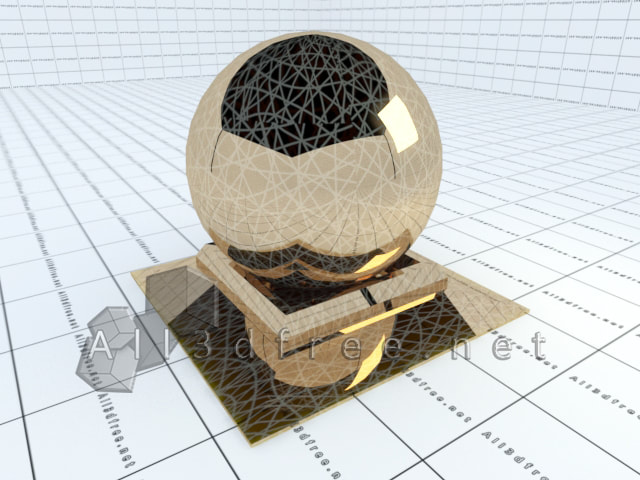 Vray materials Decorative glass collection 012